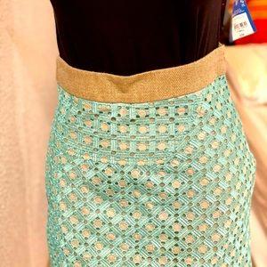 DEREK LAM Lace midi Skirt size 0